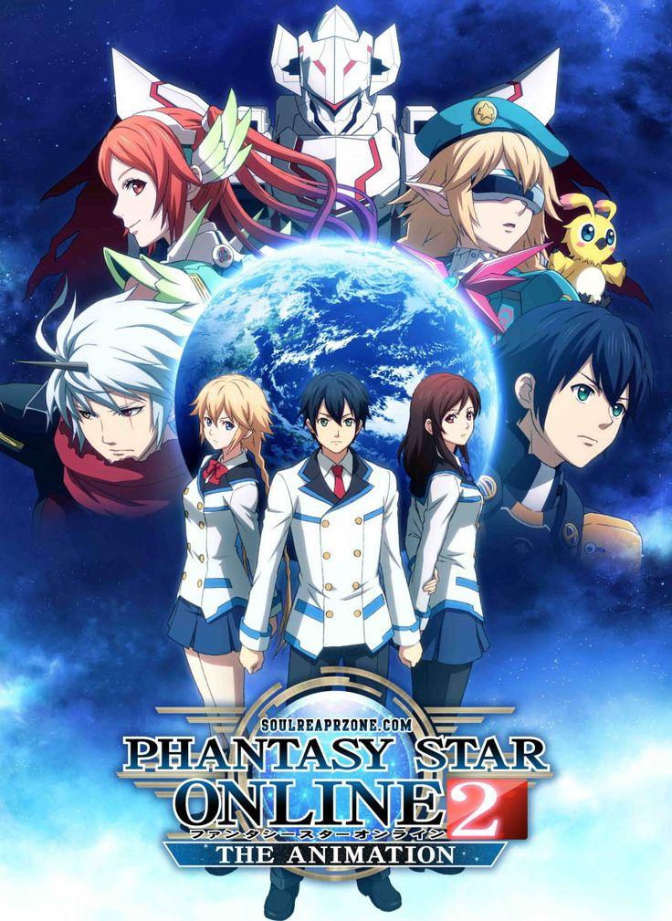Phantasy Star Online 2 The Animation | Episodes | 480p 70MB | 720p 130MB | 1080p 270MB MKV    #PhantasyStarOnline2TheAnimation  #Soulreaperzone  #Anime