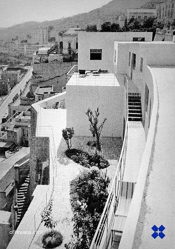 Where architecture is on the Cliff Villa Oro Luigi Cosenza and Bernard Rudofsky  Napoli, 1934-1937