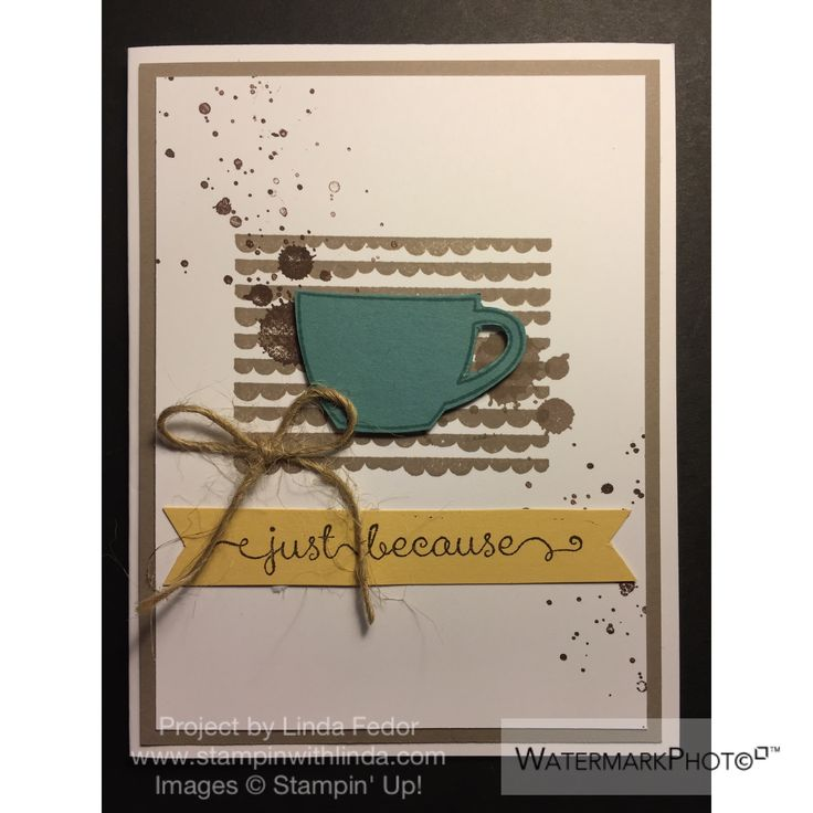 Just Because Alternate Paper Pumpkin Card Using Stampin' Up! July 2015 Thanks A…