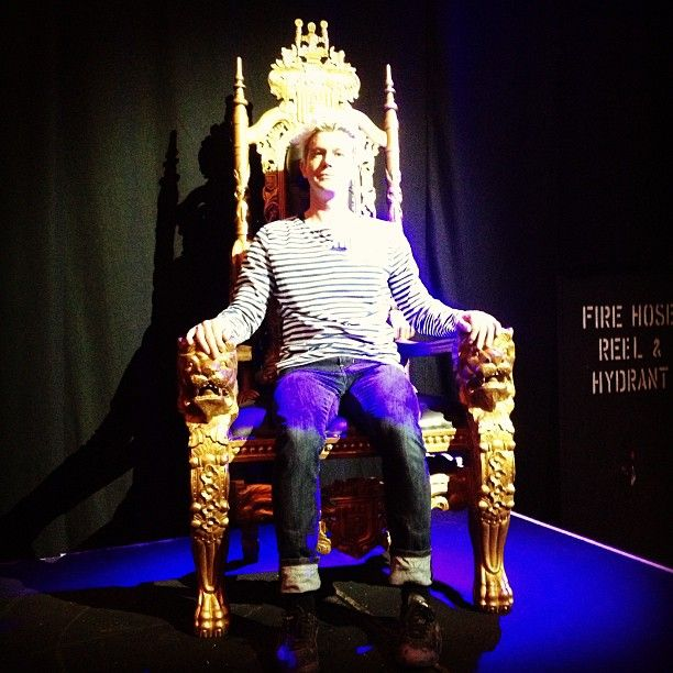 "@simfjoh's photo: ""#kingbrian finally has his throne #mfringe #melbournefringe"""