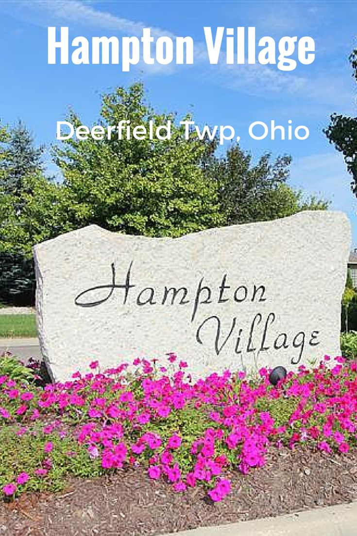 Hampton Village in Deerfield Township, OH. Our report shows homes sold from $375,000-$465,000 in 2014. Contact me for a details. #realstate #hamptonvillage