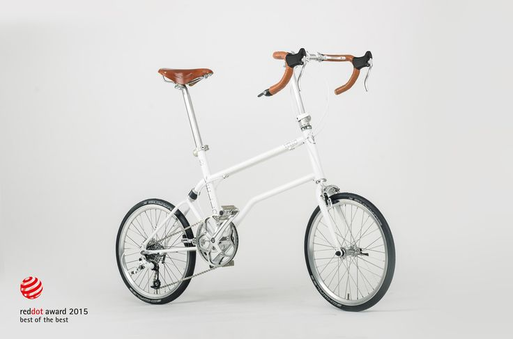 The first urban compact bike: VELLO bike Red Dot Best of the Best 2015 | Tododesign by Arq4design