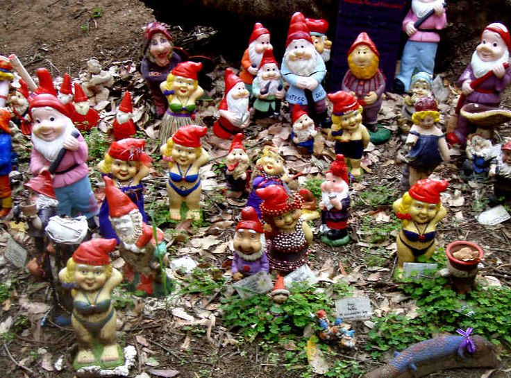 """""""Gnomesville"""" in the Ferguson Valley, South West WA."""