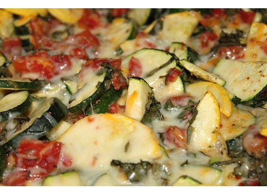 Cheesy Zucchini Bake Recipe | Recipes I Can't Wait to Try... | Pinter ...