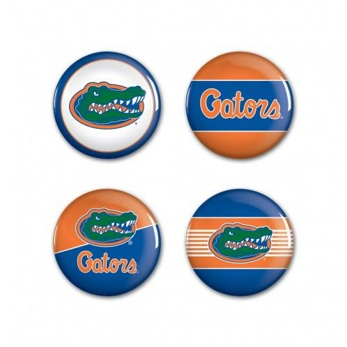 NCAA Florida Gators 4 Pack Buttons