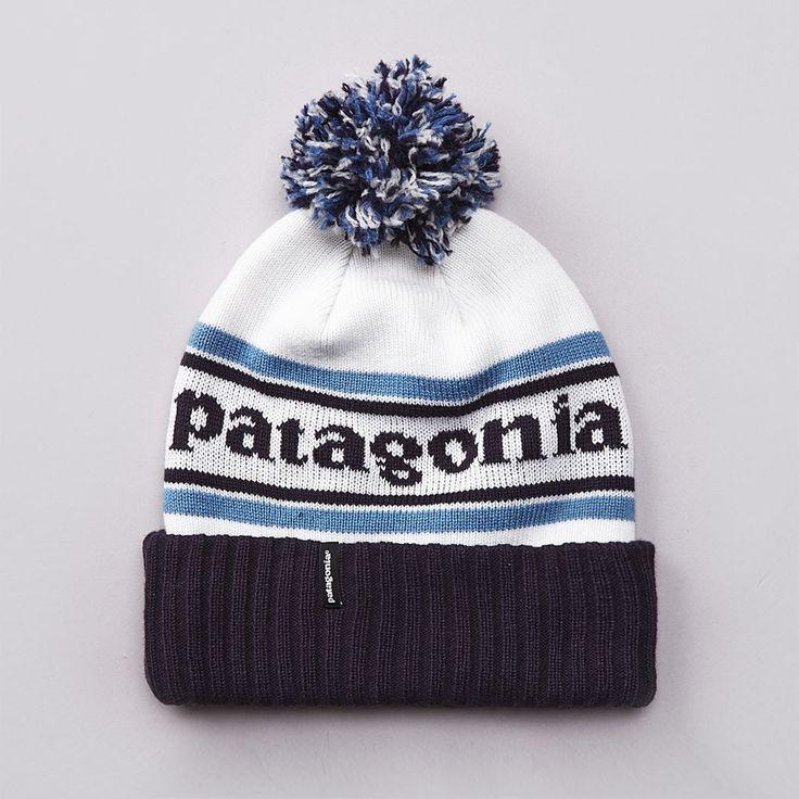 Patagonia Powder Town Beanie White