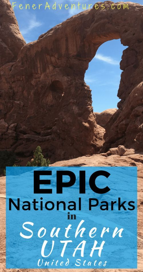 Zion, Arches, Canyonlands! The most beautiful National Parks in Southern Utah, USA. ----> Click through for stories and information to prepare for your trip - FenerAdventures.com -- road trip - Moab - adventure travel - USA - vacation ideas - budget trave