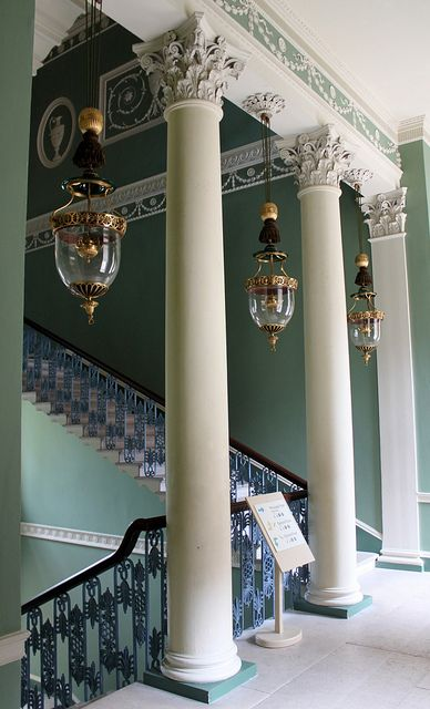 The Great Staircase: Osterley Park House by curry15, via Flickr