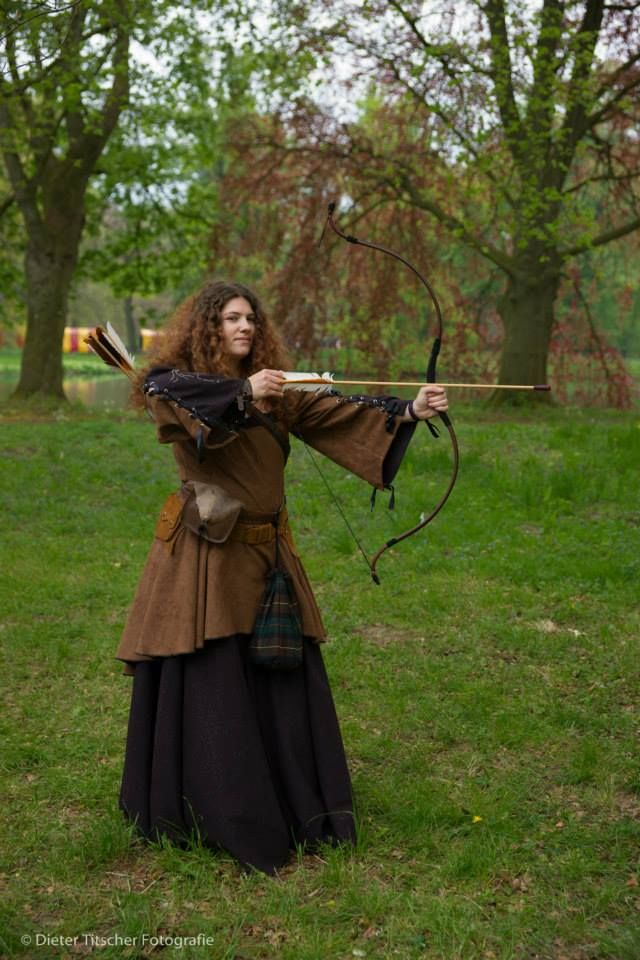 medieval archeress costume. Elfia 2014 | selfmade costumes ...