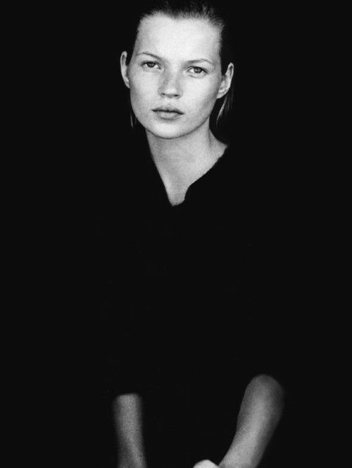 calvin's one for all, kate moss by peter lindbergh for harper's bazaar us september 1994