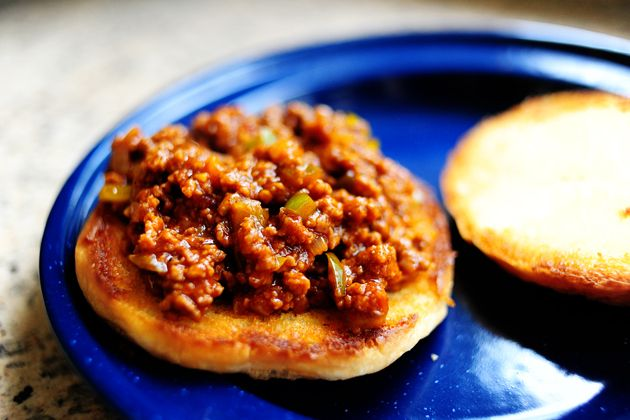 Sloppy joes for a freezer meal. Freeze and reheat in crock pot when needed.