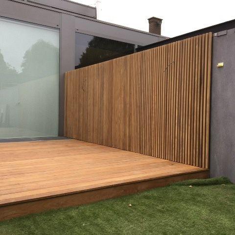 Fassade und Terrasse Diepenbeek (BE) – Architektur und Kunst