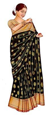 Step-by-Step Guide to Wearing a Sari: Step 6 of Wearing a Sari