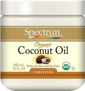 Amazon.com: Spectrum Organic Unrefined Coconut Oil For Body & Hair -- 15 fl oz: Beauty