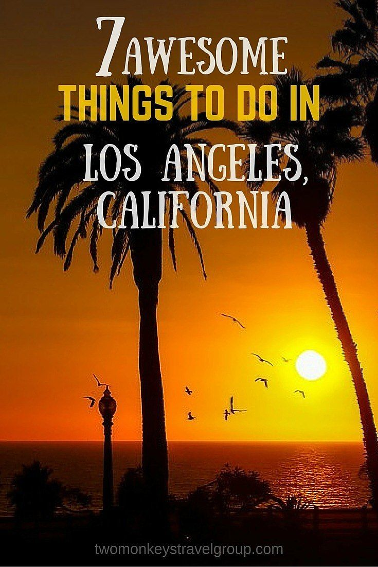 7 Awesome Things to Do in Los Angeles, California. Los Angeles is the city of dreams for many. It is the center of American entertainment industry, Hollywood. It is always sunny in Golden State of California, you will never run out of things to do in Los