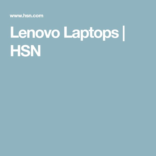 Lenovo Laptops | HSN