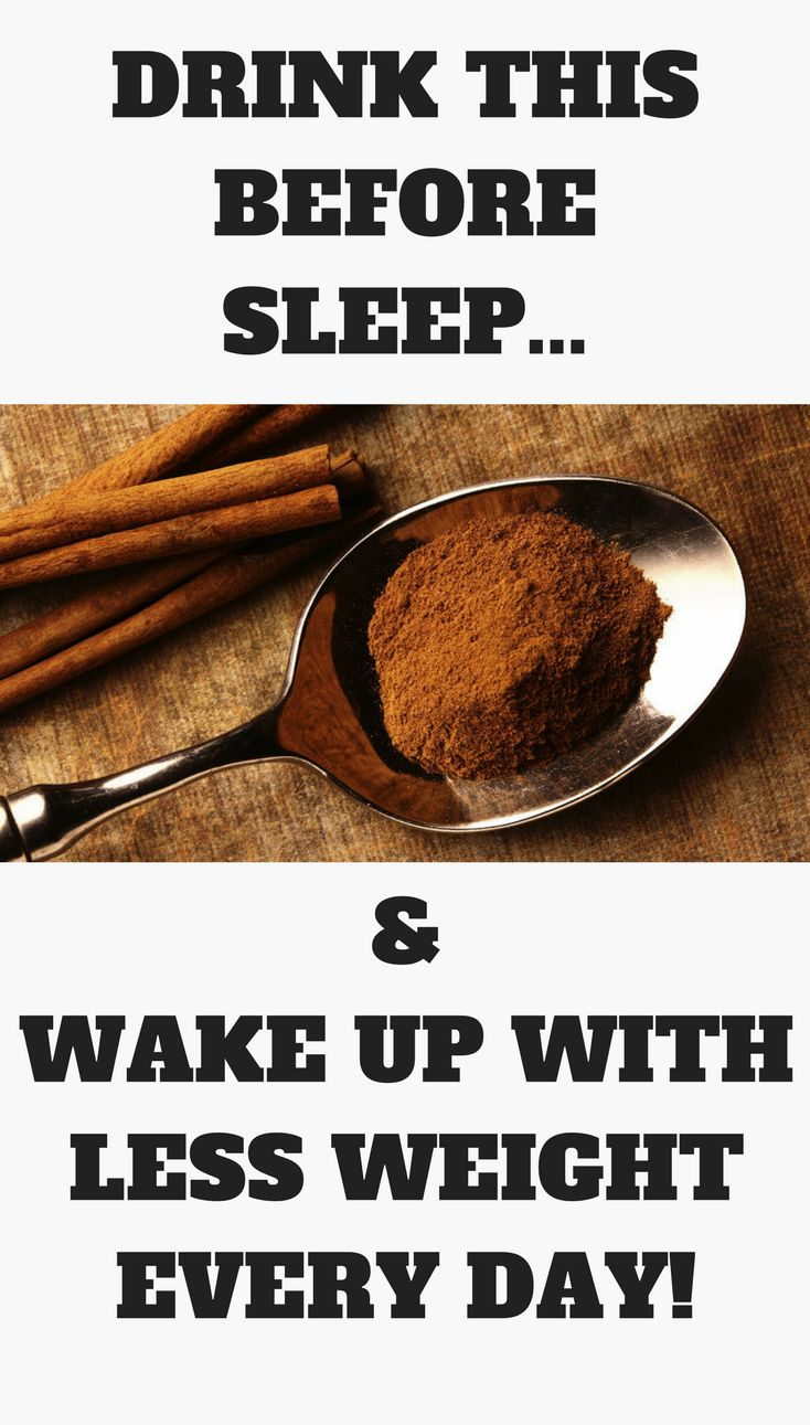 Drink this before sleep and wake up with less weight every day!!!