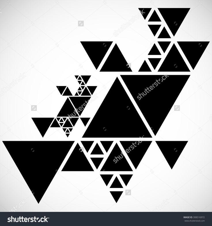 to wallpaper triangles design - photo #32