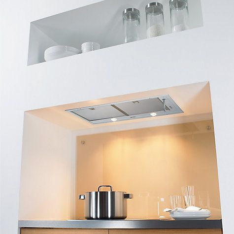 Buy Miele DA2270 Integrated Cooker Hood, Silver Online at johnlewis.com