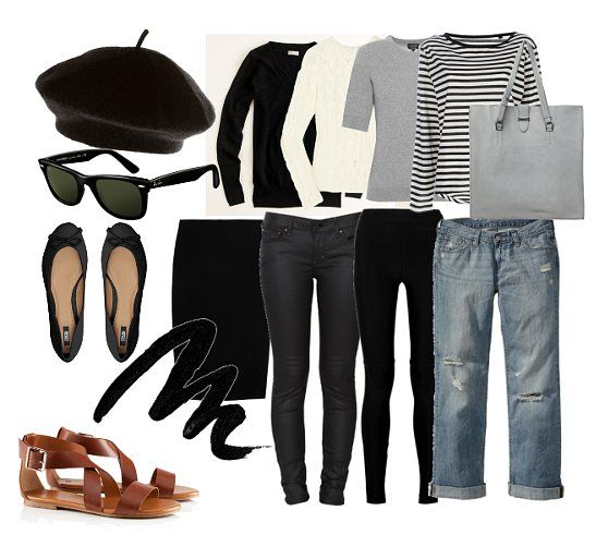 The beatnik wardrobe