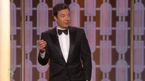 """TelePrompTer Fails as Jimmy Fallon Takes the Stage for the Golden Globes  The host also wondered what it would have been like if King Joffrey had lived in 'Game of Thrones': """"Well in 12 days we're going to find out.""""  read more"""