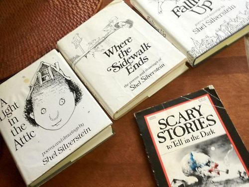 The kids of today need to take an afternoon and read all of these: Worth Reading, 90 S, Scary Stories, Childhood Memories, Books Worth, Elementary School, 90S, Shel Silverstein, Kid