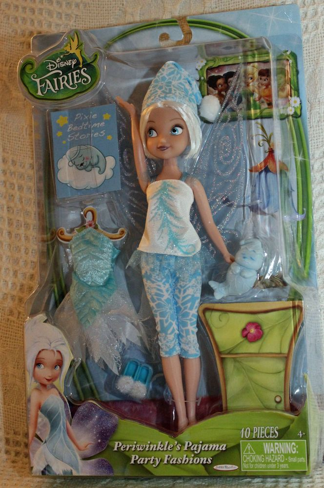 Disney Fairies Periwinkle S Pajama Party Fashions 10 Quot Doll