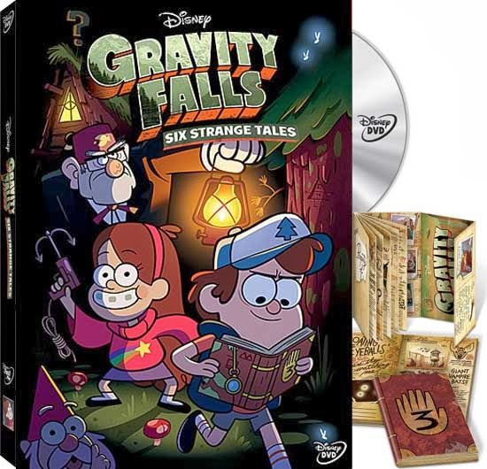 DVD Review: Gravity Falls: Six Strange Tales! OMG! Want the journal #3!