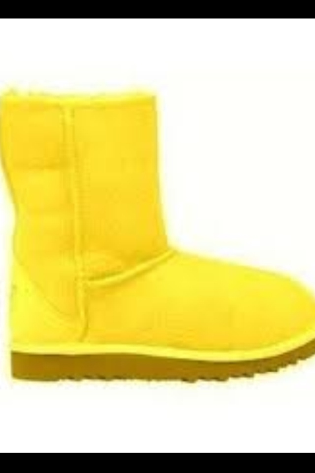 Yellow Uggs Ugg Boots Pinterest Uggs And Yellow