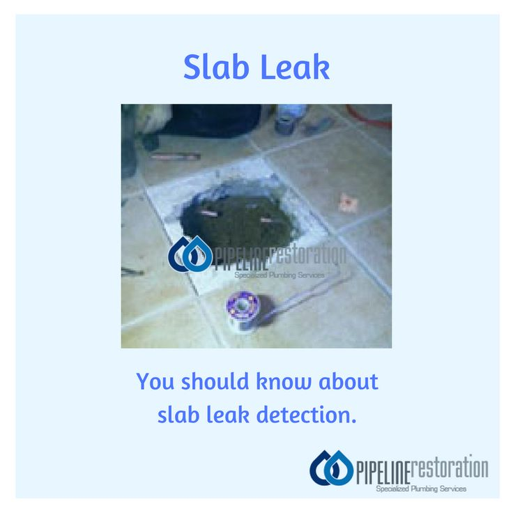 Important things you should know about slab leak detection. #SlabLeak #Leakage