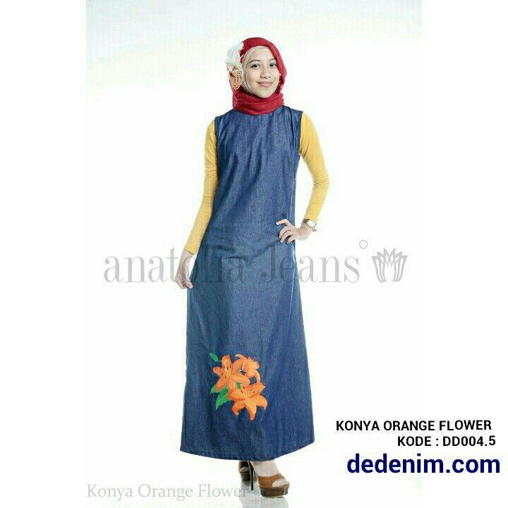 Konya merupakan model terbaru berbahan Denim otentik lembut, Konya merupakan Denim dengan Bordir model Bunga Orange Australia dengan kualitas bordir terbaik, casual, simple, dan feminim.    Size : S/M/L/XL/XXL  untuk order silakan ketik : nama-alamat lengkap-kode barang-size-nomer hp kirim ke 081903773006.    #dedenimdotcom #denim #jeans #dress #gamis #kemeja #blouse #woman #onlineshop #olshop #goodOOTD #hijab