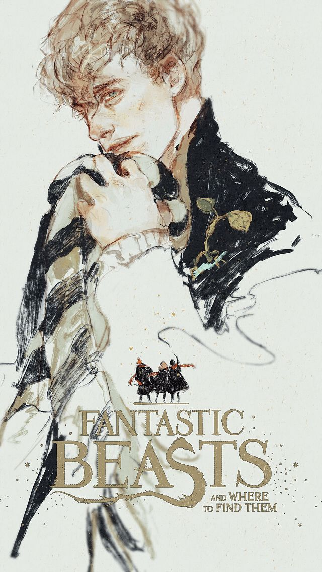 Newt Scamander - Fantastic Beasts and Where to Find Them by rdjlock.tumblr.com