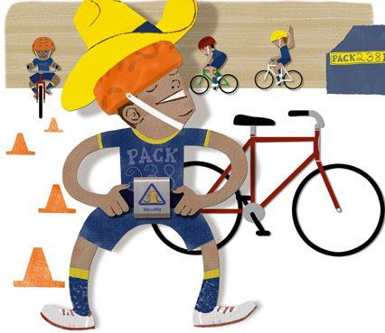 How to run a bike rodeo for your Cub Scouts Illustrations by Dave Wheeler For many Cub Scouts, a bicycle is the next best thing to a magic carpet. Once boys learn to ride, they can visit friends or explore their neighborhoods without relying on Mom's taxi or their own two feet.
