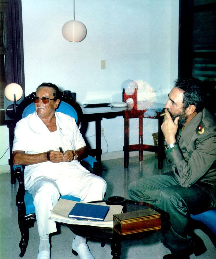 Druze Tito and Fidel Castro