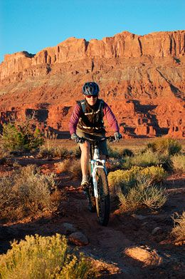 Moab Mountain Biking Trails - Moab mountain bike trail information and maps.  Sadly, by the time my kids are old enough to do this, I will be too old. LOL