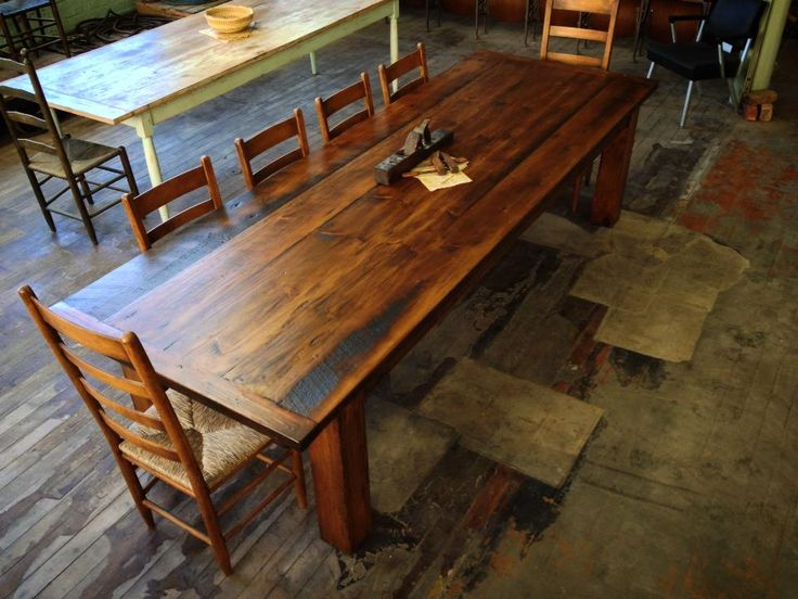 73 best mobili farm tables images on pinterest farm - Wooden art mobili ...