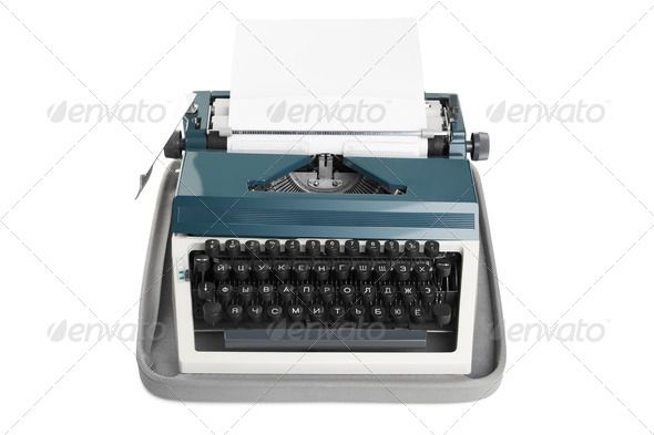 Typewriter with paper ...  alphabet, antique, arts, background, blank, business, button, clipping, communication, concepts, created, diary, document, equipment, headline, image, imagery, inspiration, isolated, journalist, keyboard, keypad, letter, line, low, machine, media, message, nobody, novel, object, obsolete, office, old, paper, past, power, print, retro, revival, russian, single, smith, technology, text, typescript, typewriter, typing, white, writing