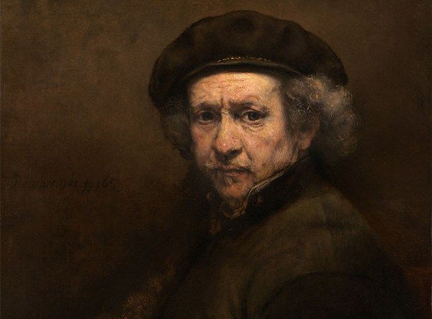 Autorretrato de Rembrandt (1659) | National Gallery of Art