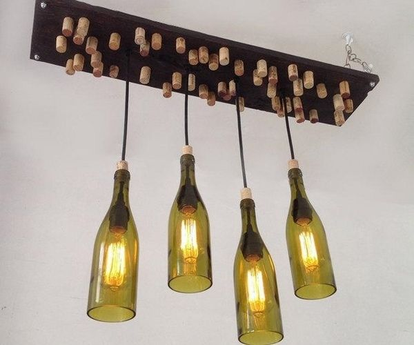 The 25 best chandelier creative ideas on pinterest chandelier diy wine bottle chandelier creative upcycling mozeypictures Gallery