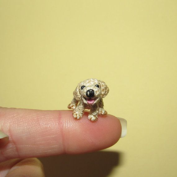 Miniature LABRADOR Puppy Miniature dog tiny dog by ByAnni on Etsy