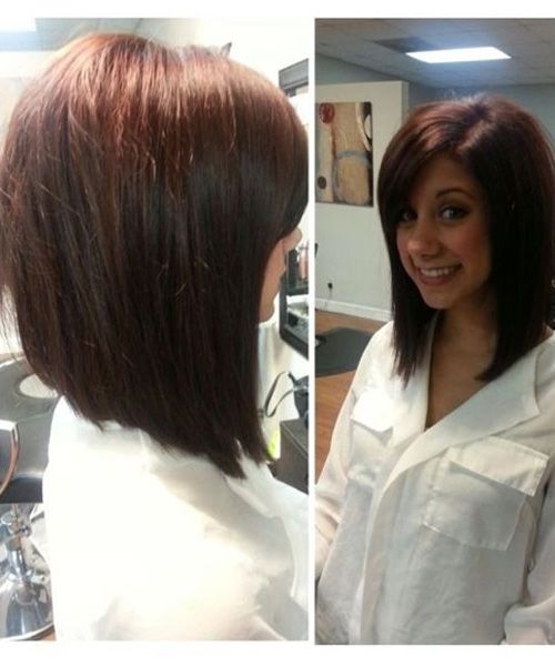 Best Angled Bob Hairstyles 2017