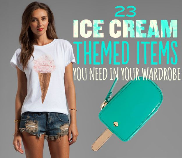 23 Ice Cream Themed Items You Need In Your Wardrobe