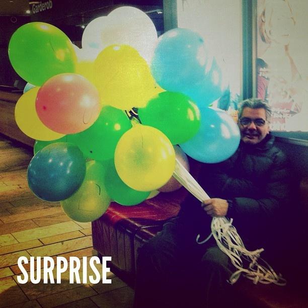 Surprise. #throwasurpriseparty #ballons #picoftheday #dadailydo by @dadailydo, via Flickr