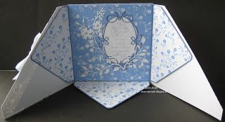pamscrafts: criss cross with envelope inside card