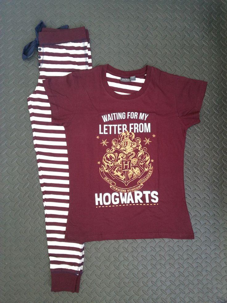 Primark Harry Potter Letter From Hogwarts PJ Pyjama Set Sizes 6-20