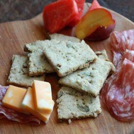 Quinoa Crackers [Jane's Adventures in Dinner]