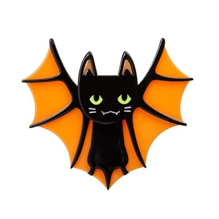 Bat Cat (2017) - Wild Brooches