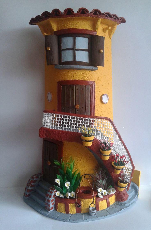 17 mejores im genes sobre tejas decoradas en porcelana for Puertas de tejas decoradas