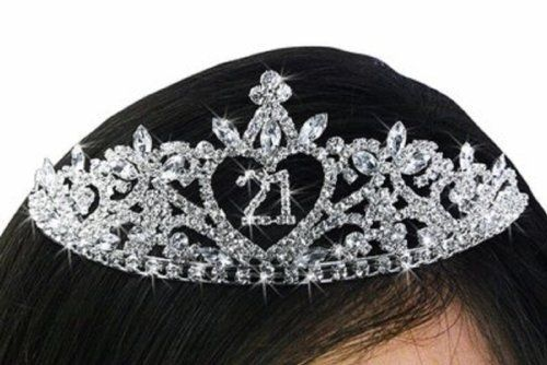 Pin By Jamie McCray On 21st Birthday 21st Birthday Decorations 21st Birthday Birthday Tiara