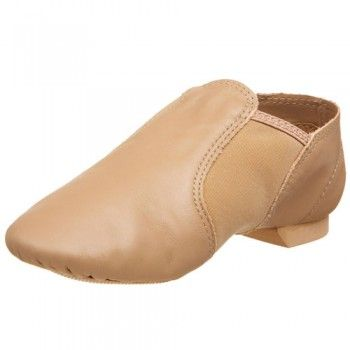 Capezio Brown Leather Entry Jazz Dance Shoe Little Girls Size 10M-1.5W